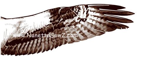 osprey wing
