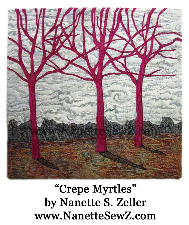 crepe myrtles