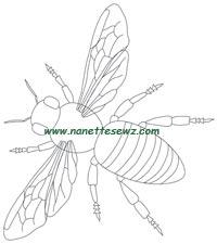 honeybee-outline
